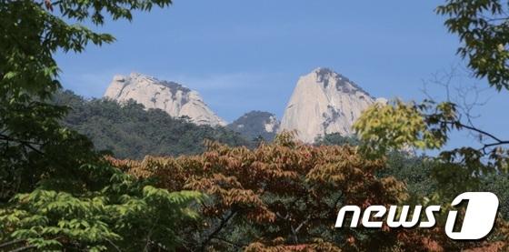 북한산 전경(강북구 제공)© News1