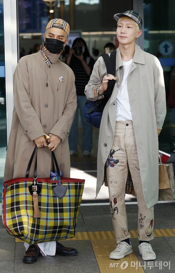 (왼쪽부터) 송민호, 이승훈 /사진=김휘선 기자