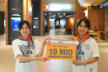 CJ CGV가 올해 인도네시아 영화 시장에서 관객수 1000만명을 돌파했다. / 사진제공=CJ CGV
