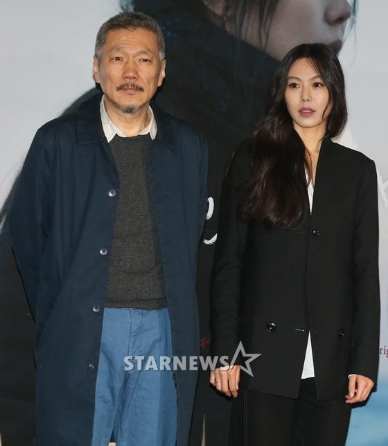 홍상수감독(왼쪽), 김민희/사진=스타뉴스