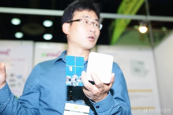 """소프트웨이브 2017, 시솔 """"KB·NHN이 택한 NFC 모듈 보실래요"""""""