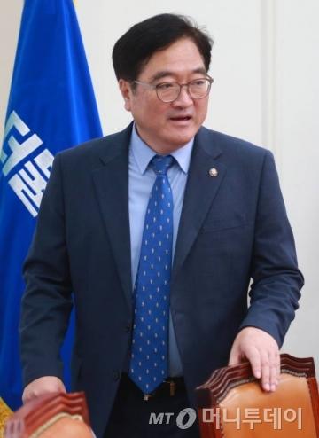 우원식 더불어민주당 원내대표/사진=이동훈 기자