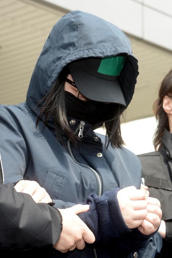 이웃에 사는 8세 초등학생을 살해 후 유기한 혐의로 구속된 17살 김모양의 공범인 18살 박모양/사진 제공=뉴스1