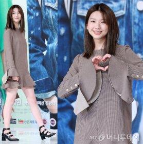 '안단테' 김진경, 모델다운 각선미…청초한 미모 '눈길'