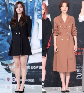 """""""재킷이야? 원피스야?""""…이예현·고우리 패션 비교"""