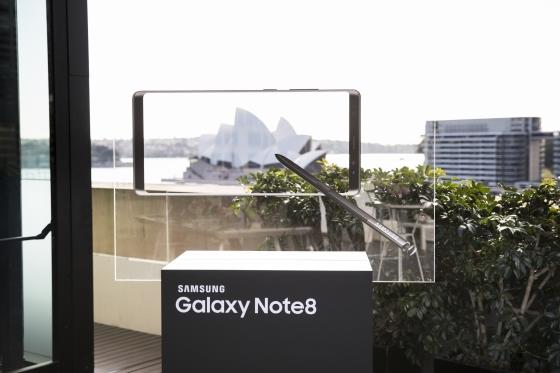 삼성전자 '갤럭시노트8' 22일 호주 출시