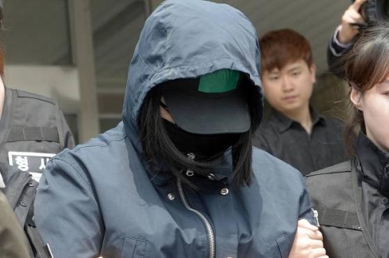 이웃에 사는 8세 초등학생을 살해 후 유기한 혐의로 구속된 17살 김모양의 공범인 박모양./사진=뉴스1