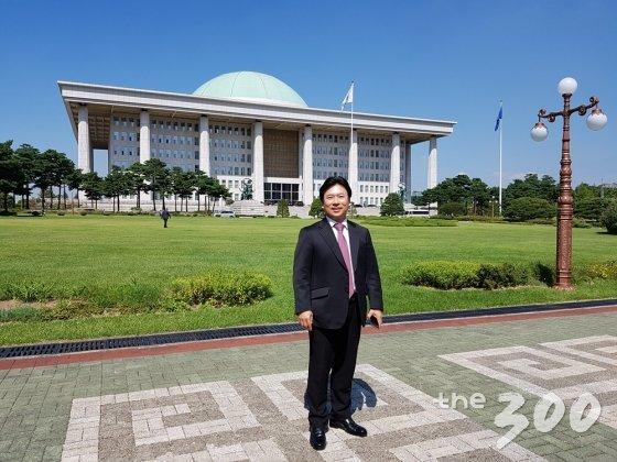 김영수 더불어민주당 보좌진협의회 신임 회장 /사진=백지수 기자