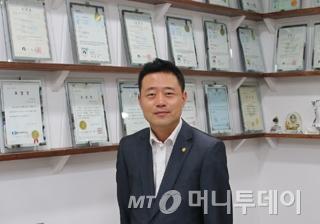 대한후렉시블 윤성환 사장/사진=송기우 에디터