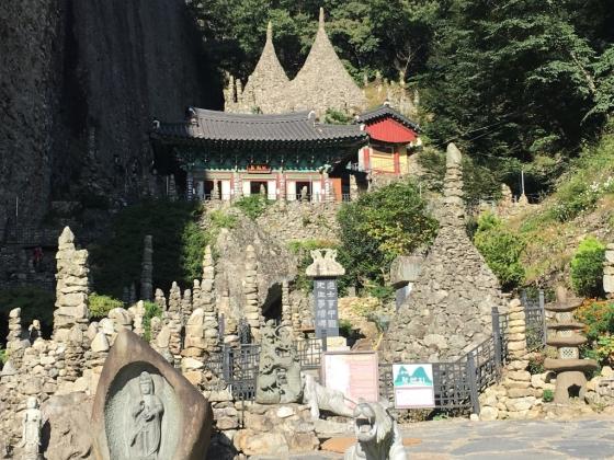 마이산탑사 풍경.