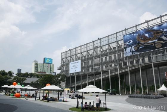 광주 국립아시아문화전당 광장. /사진=서영진<br />