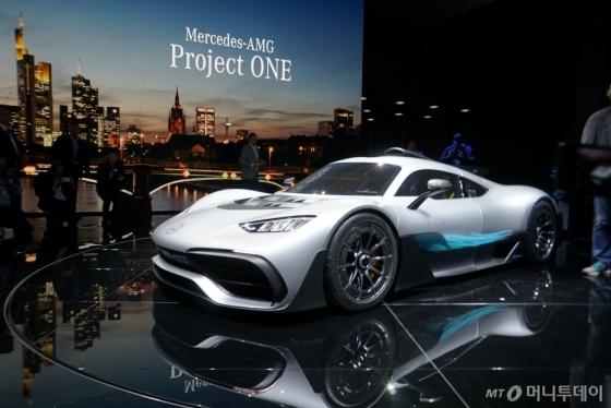 메르세데스-AMG 프로젝트 원 /사진=김남이 기자