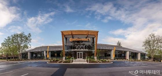 미국 실리콘밸리 산호세에 위치한 '콘티넨탈 실리콘밸리 R&D센터'/사진=콘티넨탈