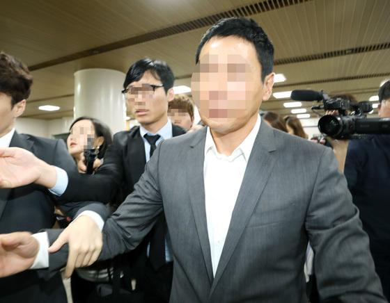 배우 김정민씨와 사귀다 결별하자 협박을 통해 금품을 뜯어낸 혐의로 기소된 손태영 커피스미스 대표./ 사진=뉴스1