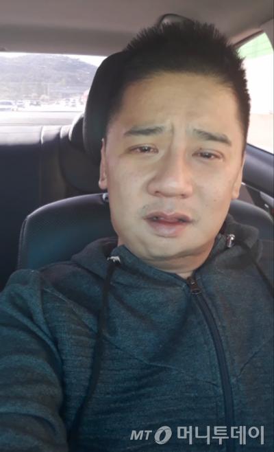 여중생 살인사건 피의자 이영학씨(35)가 직접 촬영한 '유서 동영상' 캡처.