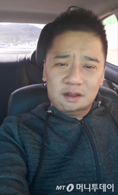 여중생 살인 피의자 이영학씨(35)가 직접 만든 '유서 동영상' 캡처.