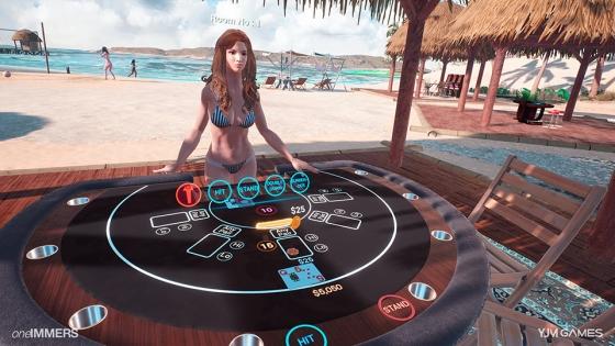 VR 네트워크 카지노 게임 '카지노피아: 더 블랙잭'(Casinopia: The Blackjack) / 사진제공=와이제이엠게임즈
