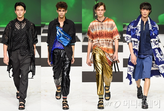 """""""한결 스포티해진 로커""""…'레쥬렉션' 2018 S/S 컬렉션  style M"""