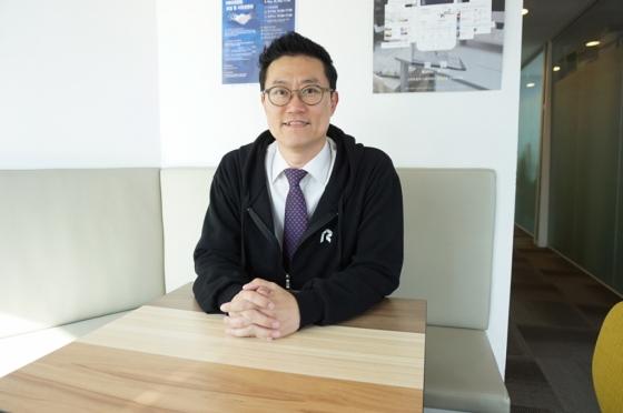 이정우 르호봇 비즈니스 인큐베이터 경영기획본부 이사(45). /사진제공=르호봇