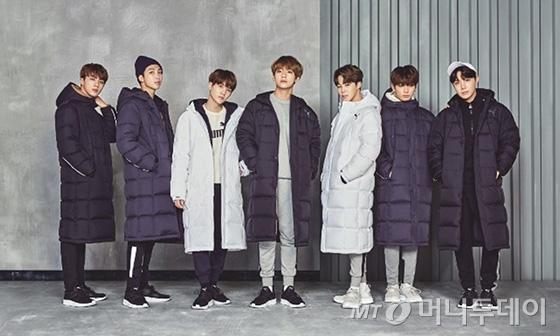 그룹 방탄소년단(BTS) /사진제공=푸마