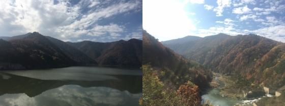 '올림픽 아리바우길' 3코스 중 만나는 도암댐/사진=이경은 기자.