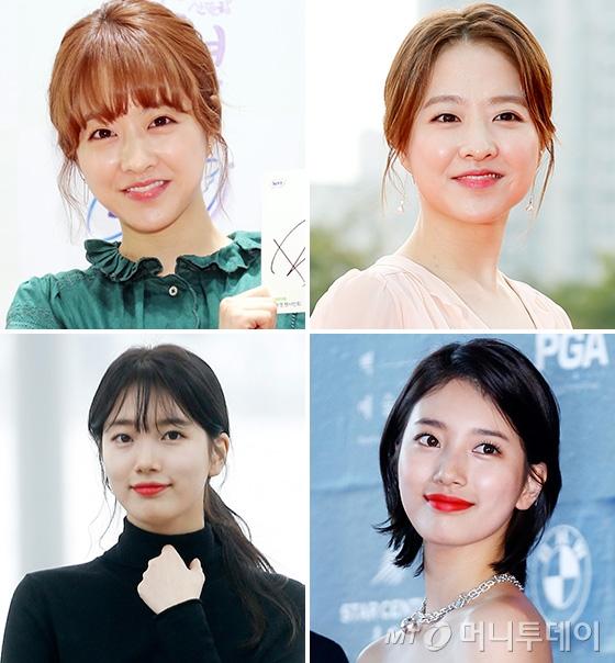 배우 박보영, 수지(위·아래)/사진=머니투데이 DB