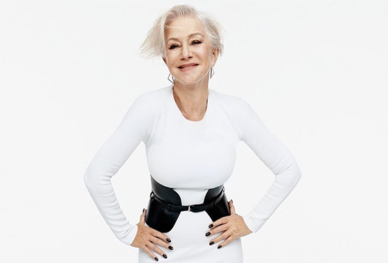얼루어 2017년 9월호 표지모델 배우 헬렌 미렌/사진=미셸 리 인스타그램