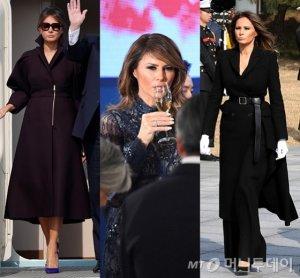 멜라니아 트럼프 여사의 '방한 패션' 모아 보니…