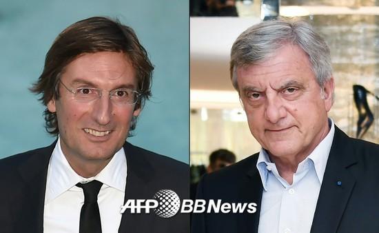 피에트로 베카리(왼쪽)과 시드니 톨레다노 /AFPBBNews=뉴스1