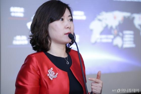 /린다 린(林红) 바이두 글로벌 사업 총괄 임웜 /사진제공=HS애드