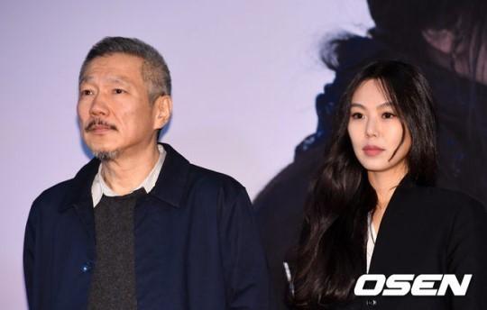 홍상수 감독과 배우 김민희 /사진=OSEN