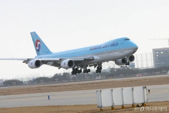 대한항공 화물기 B747-8F/사진=대한항공