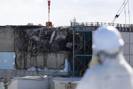지난해 2월 촬영된 일본 도쿄전력의 후쿠시마 제1원자력발전소. /AFPBBNews=뉴스1