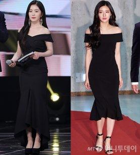 """아이린·이선빈, 청순 미녀의 드레스는?…""""여성스러워"""""""