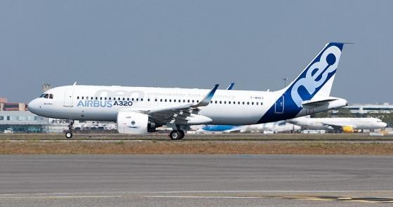 지난해 1월 첫 상업운행을 시작한 에어버스의 A320네오 기종. /사진=위키미디어