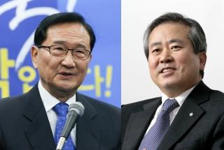 홍재형 전 부총리(왼쪽)와 신상훈 전 사장 / 사진=머니투데이DB, 뉴스1
