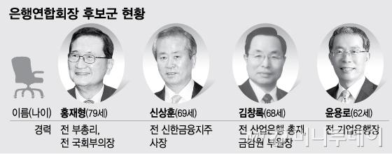 차기 은행연합회장 '안갯속'…올드보이 vs 민간 출신 '경합'