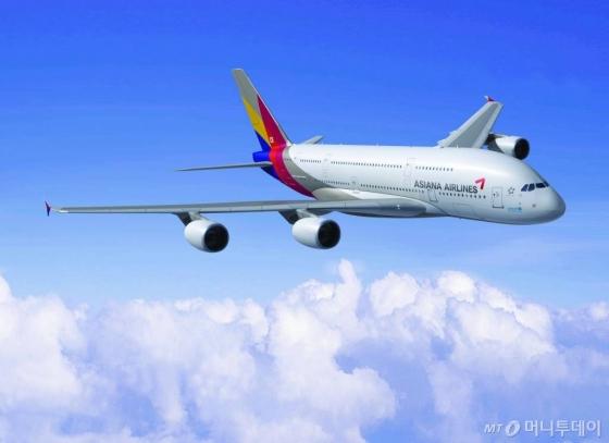아시아나 A380/사진=아시아나항공