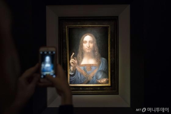 레오나르도 다빈치의 예수 초상화 '살바도르 문디'. /AFPBBNews=뉴스1
