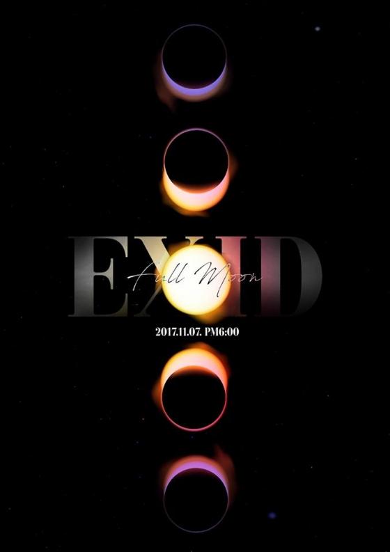 이 사진 한 장(EXID 4집 앨범 콘셉트 티저)으로 설명 끝. /사진=EXID 공식 페이스북 페이지