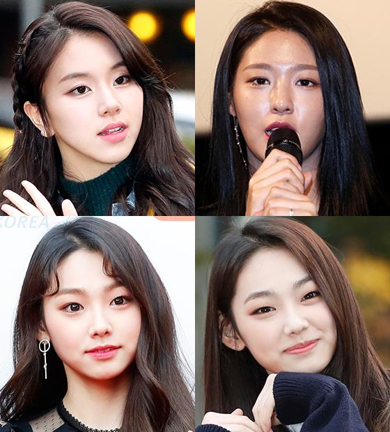 (시계방향으로) 채영, 설현, 미나/사진=머니투데이DB, 뉴스1