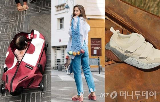 /사진=프라이탁, H&M, 스텔라매카트니 공식 인스타그램
