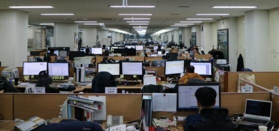 서울 금천구에 위치한 위성통신 전문기업 AP위성 본사 전경. / 사진제공=AP위성