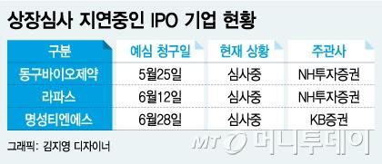 반년째 상장 심사중?…IPO 상위증권사 명성에 흠집