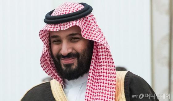 무함마드 빈 살만 사우디아라비아 왕세자. /AFPBBNews=뉴스1