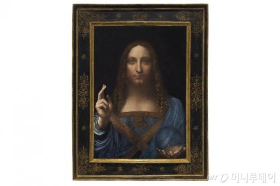 레오나르도 다빈치의 예수 초상화인 '살바토르 문디(Salvator Mundi, 구세주). /AFPBBNews=뉴스1