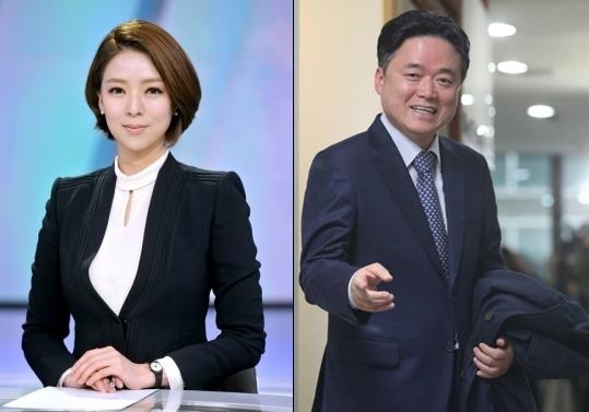 배현진 MBC 아나운서(왼쪽), 최승호 새 MBC 사장 /사진=MBC제공, 뉴스1