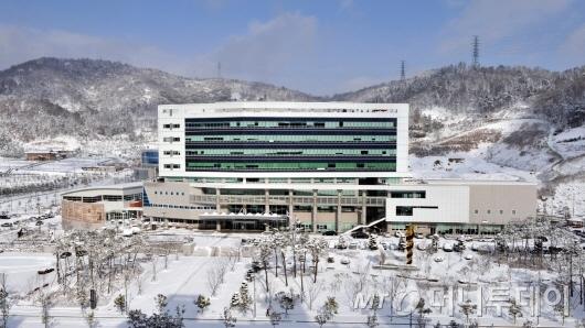 전라남도교육청 전경(겨울).