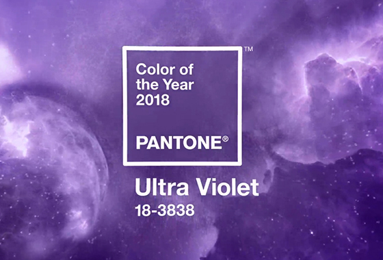 2018년의 색 '울트라 바이올렛'/사진=팬톤(Pantone)