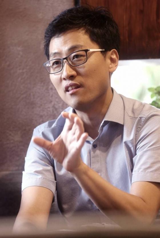 지난 8일 김상욱 부산대 교수가 신간 '김상욱의 양자 공부'를 출간했다. /사진=홍봉진 기자